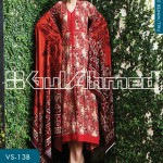 Gul Ahmed Winter Linen Collection 2013-14 for Women