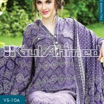 Gul Ahmed Winter Linen Collection 2013-14 for Women 2