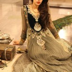 Jannat Nazir & Zahra Ahmad Dresses Collection For Women 2013  3