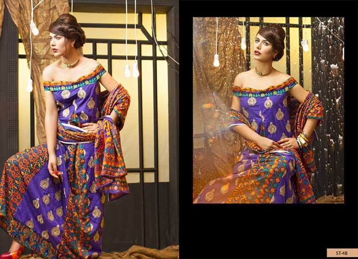 KHADDAR Fall Winter Embroidered Collection 2013 by Shariq Textiles 2
