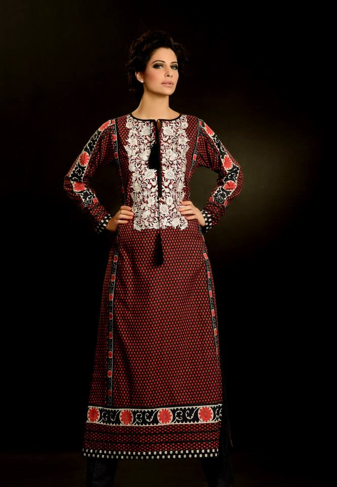 Khaadi Unstitiched Winter Collection 2013-14 For Women (1)