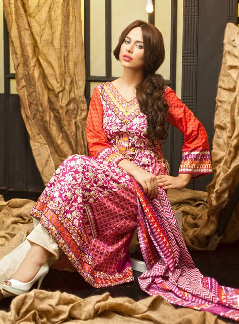 Khaddar Winter Collection 2013 For Women by Shariq Textiles 1