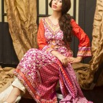 Khaddar Winter Dresses Collection 2013 by Shariq Textiles 004