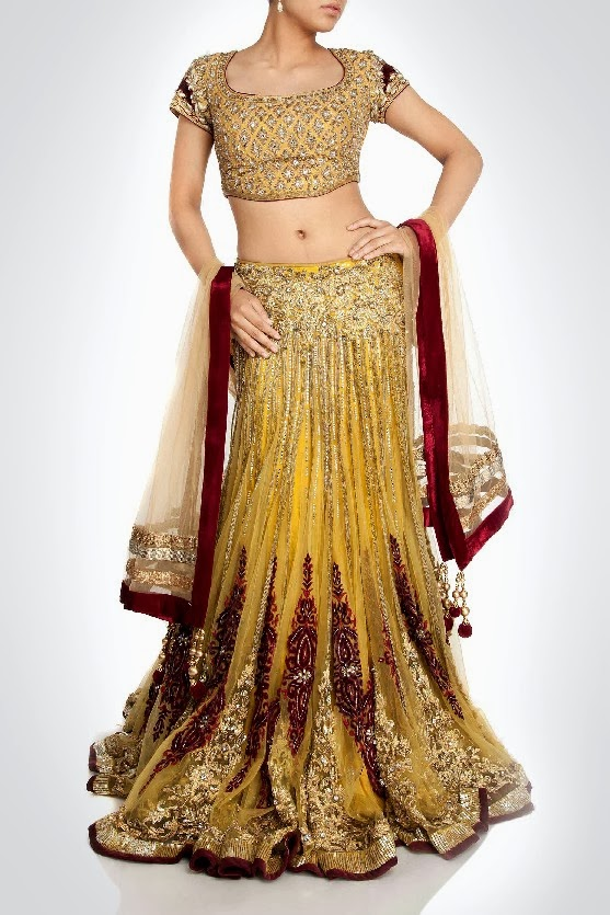 Kimaya Bridal Lehenga Wedding Suits Collection 4