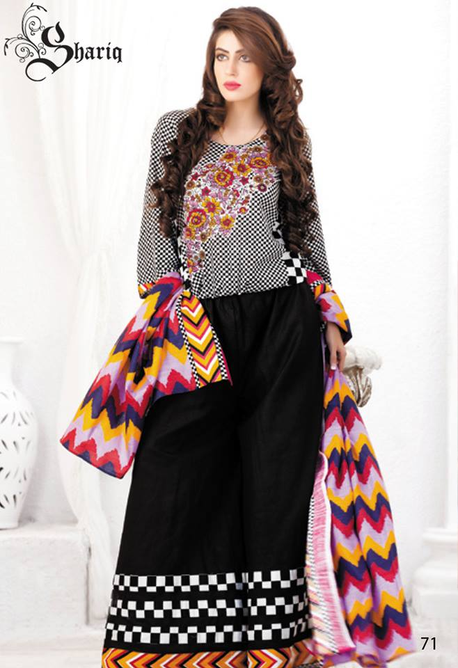 Latest Khaddar Dress Collection 2013-2014 Vol 2 For Women By Shariq Textiles (1)