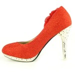 Latest Plus Size Heels Pumps Foot Wear Collection 2013 -14 For Women (2)