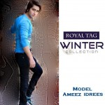 Men Wear Latest Winter Collection 2013 by Royal Tag Model Ameez Idrees (1)