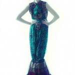 Mina Hasan Western Style Party Wear Dresses Collection 2013 003