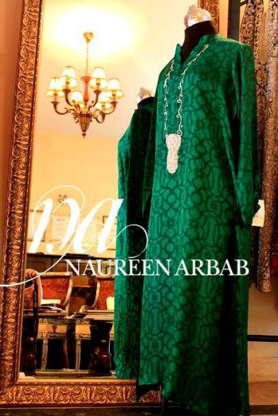 Naureen Arbab Pakistani Formal Dresses 2014-13 For Women
