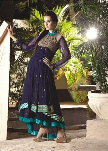 New Ahsan Hussain Couture Formal Wear Frocks Collection 2013 For Women 1