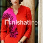 Nishat Linen Party Wear Collection 2013 by Nisha Fabric 004