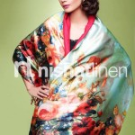 Nishat Linen Stylish Winter Shawl Collection 2013-2014 1
