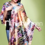 Nishat Linen Stylish Winter Shawl Collection 2013-2014