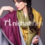 Nishat Linen Stylish Winter Shawl Collection 2013-2014 2