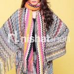 Nishat Linen Stylish Winter Shawl Collection 2013-2014 4