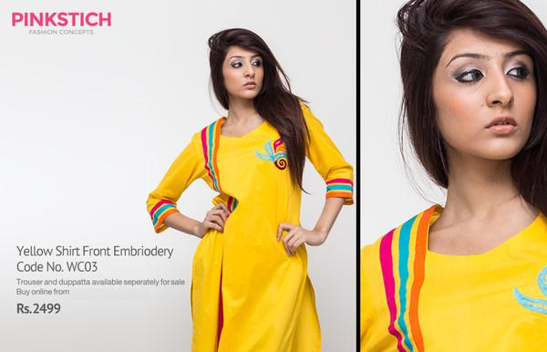 Pinkstich Winter Dress Collection 2013 For Women 4