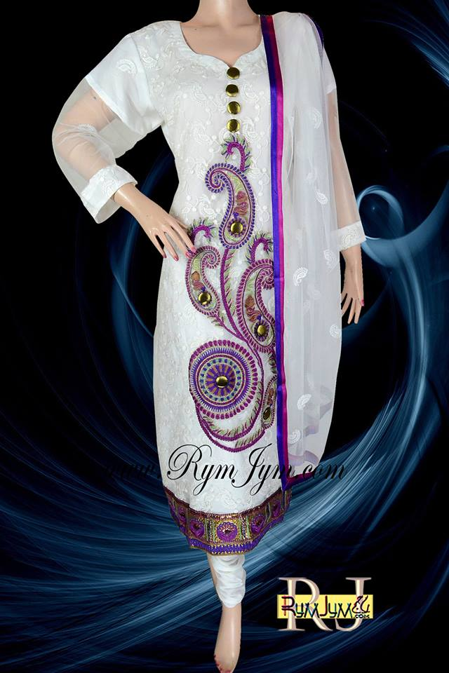 Rymjym Casual Latest Dresses Collection 2013 001