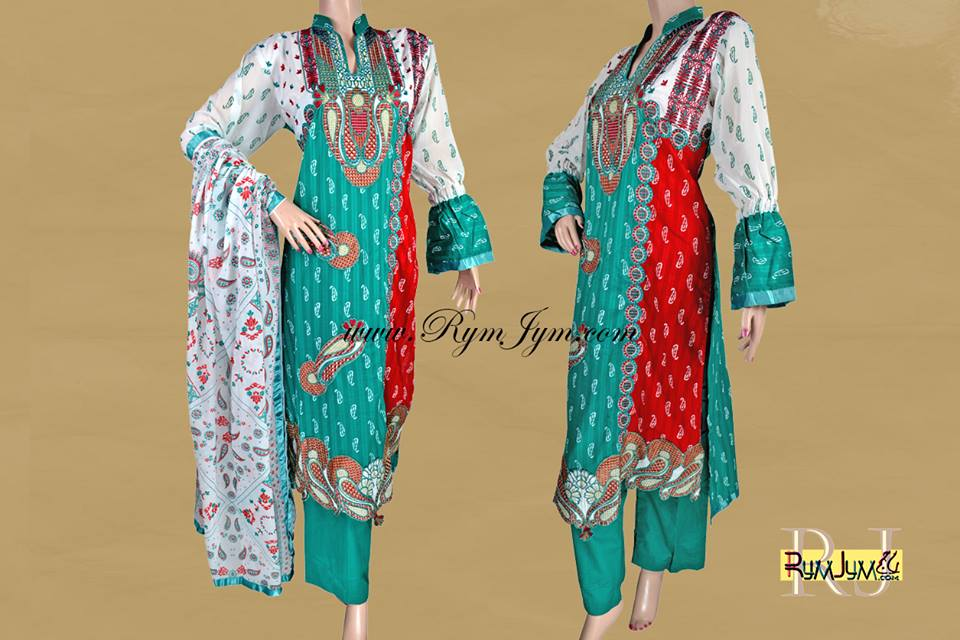 Rymjym Casual Latest Dresses Collection 2013 004