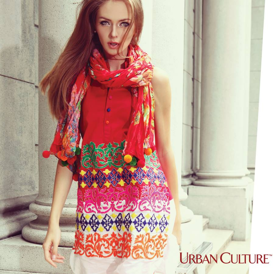 Urban Culture Winter Collection 2014 For Women & Girl