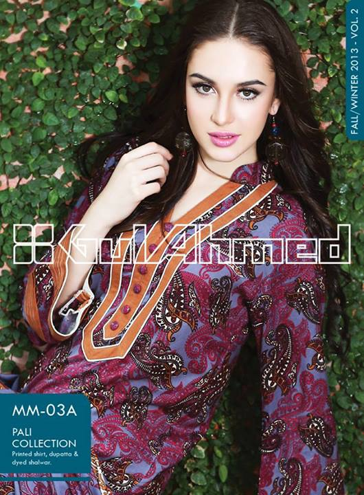 Winter Collection Gul Ahmed Pali 2013-14, Vol-2 For Women (3)