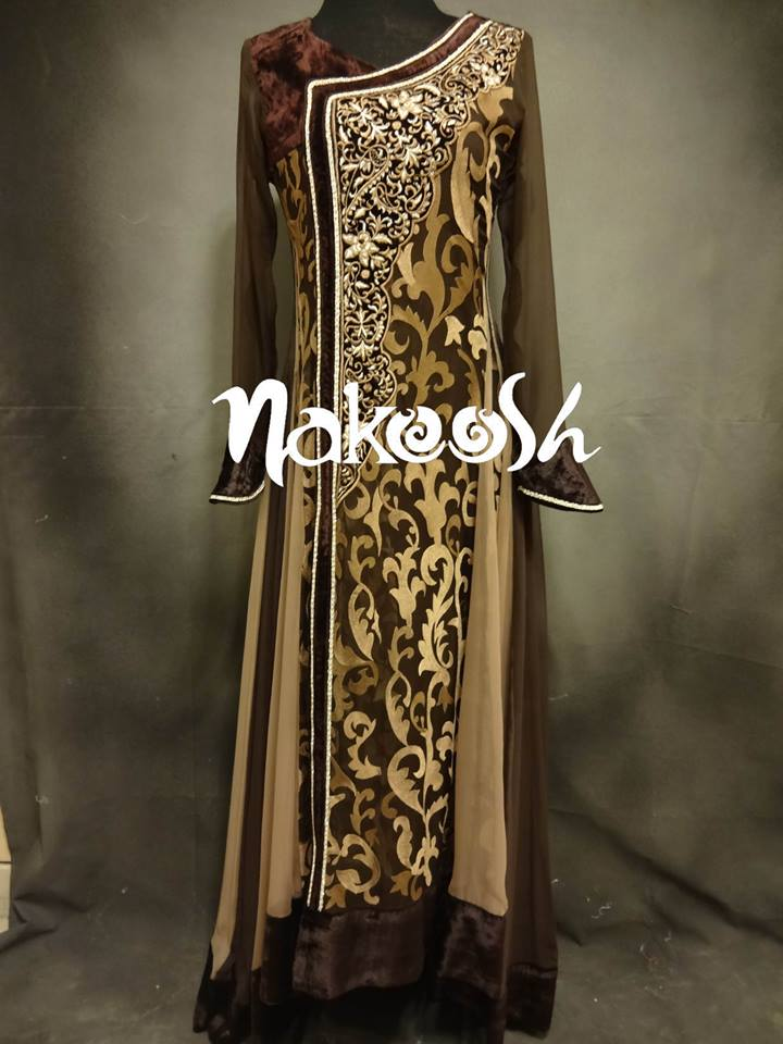 Women Luxury Dresses by Nakoosh Collection 2013 001