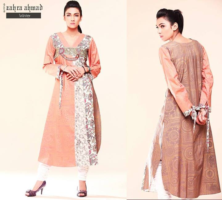 Zahra Ahmad Latest Girls Formal Wear Collection 2013 001