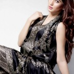Aamir Baig Party Wear Dress Design Collection 2014 For Women (3)