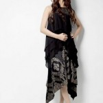 Aamir Baig Party Wear Dress Design Collection 2014 For Women (6)