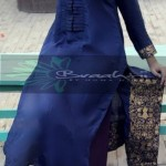 Braahtii Party Wear Winter Dress New Collection 2014 For Women (3)