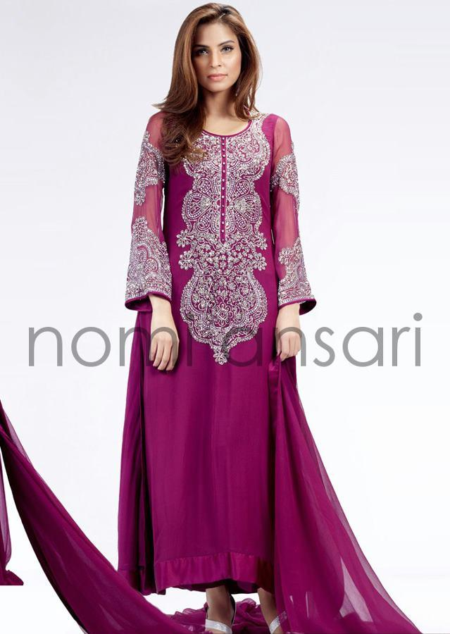 Bridal Wear Collection 2014 for Pakistani Brides by Nomi Ansari (6)