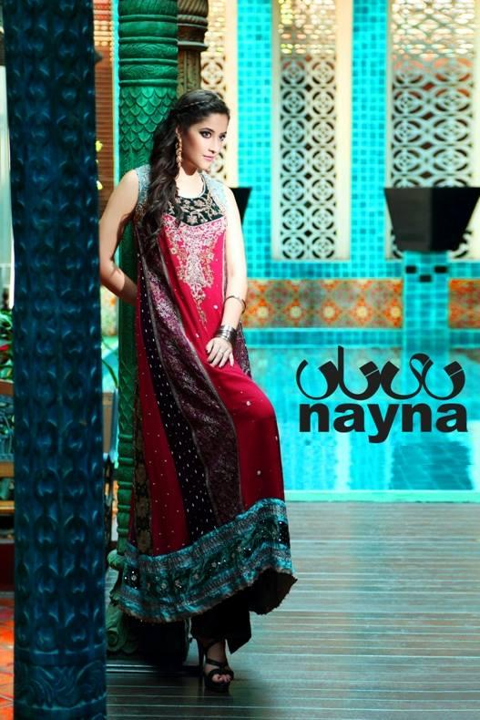 Bridal Wear Collection Nayna Fashion House UK 2013-14 (3)