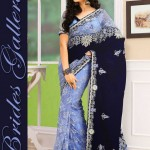 Brides Galleria Latest Stylish Party Wear Indian Sarees 2014 002
