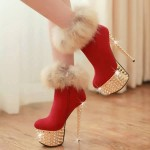 Chalany Stylish High Heels Shoes Designs 2014 For Women (4)