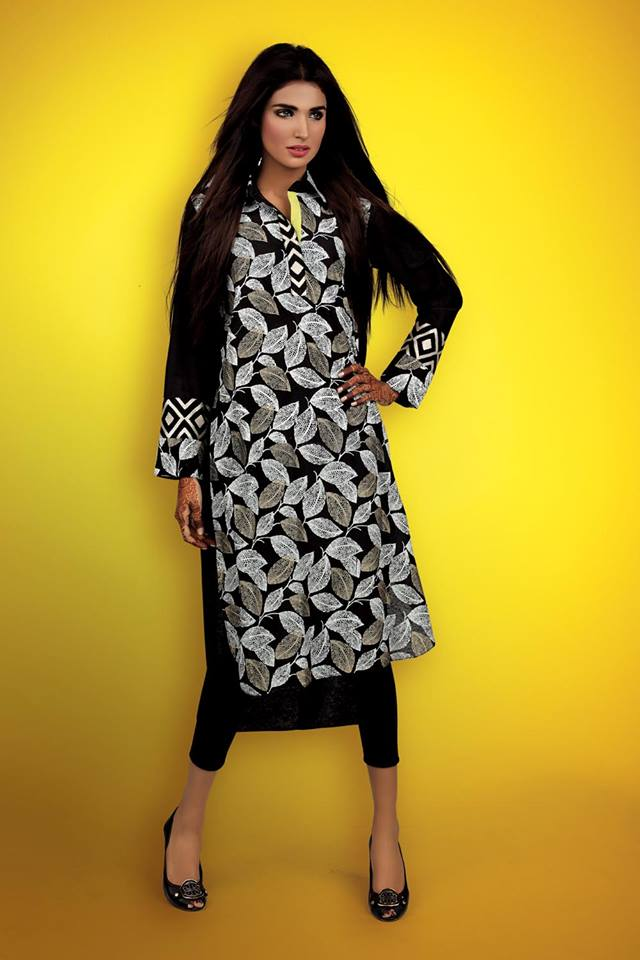 Cross Stitch Stylish Winter Wear Party Dress Collection 2014 For Women (4)