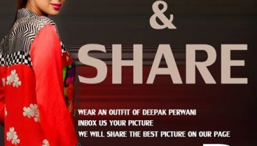 Deepak Perwani Formal Dresses Collection 2013 001