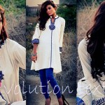 Evolution Textiles Stylish Formal Wear Dresses 2014 001
