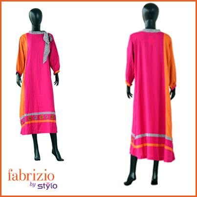 Fabrizio Latest Winter Dresses Collection 2014 001