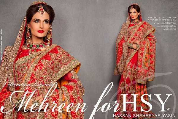 HSY Bridal Wear Dresses Collection 2013-14 001
