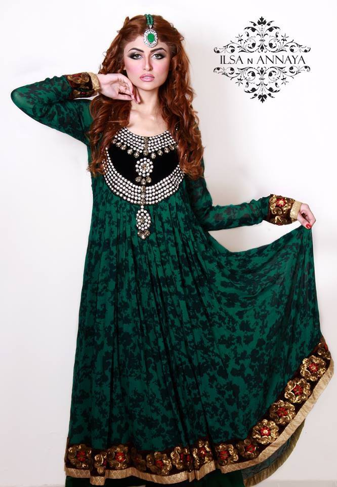 Ilsa N Annaya Designer Party Wear Dresses 2014 for Ladies 1