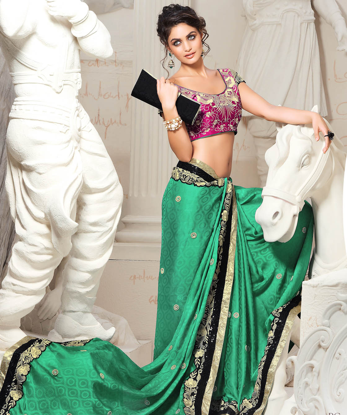 Indian Traditional Saree Designs for festivals 2013 3