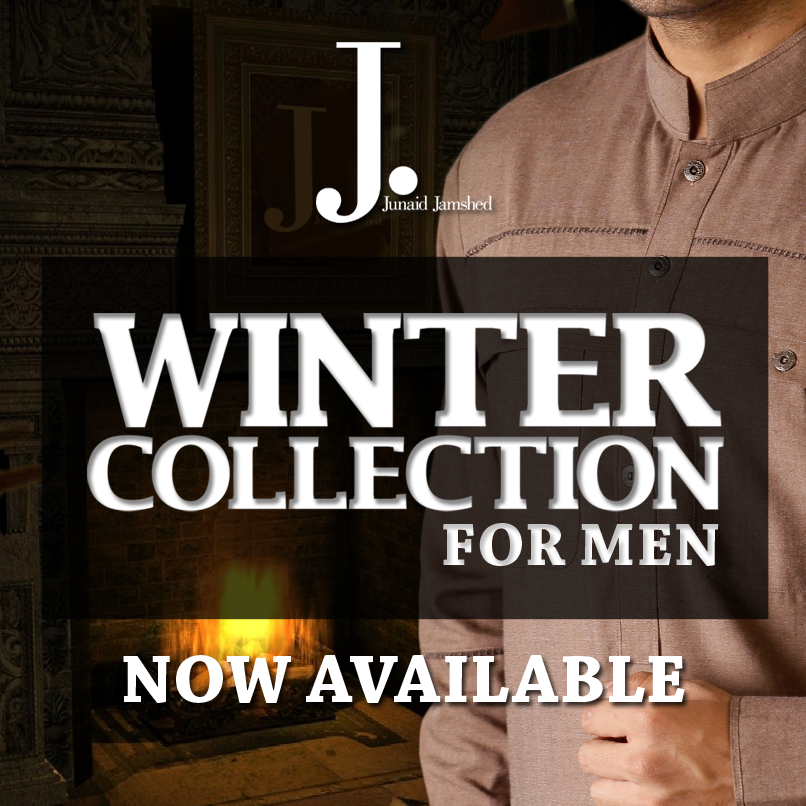 Junaid Jamshed Winter Collection 2013-14 for men