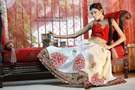 Kaneez Fatimah Latest Women Winter Dress Collection 2014 For Women (6)