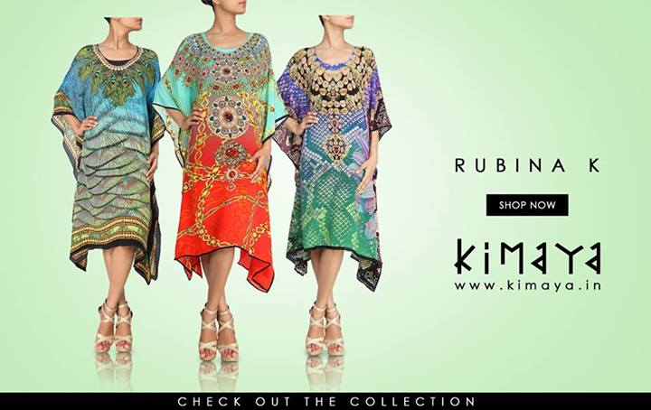 Kimaya Indian Girls Latest Printed Dresses Collection 2013 001