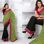Latest Indian Silk Saree Collection with Blouses 2014 For Women (5)