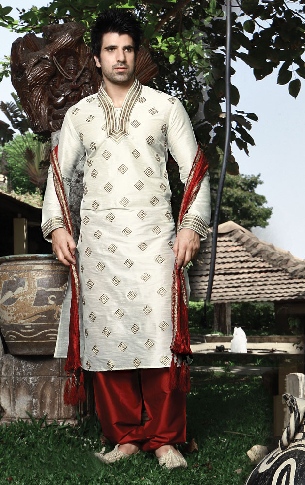 Latest Men's Indian Silk Kurta Set Collection For Winter 1