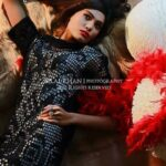 Latest Party wear Winter Dress collection 2014 For Women By Kaneez Fatima (1)