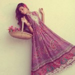 Latest Party wear Winter Dress collection 2014 For Women By Kaneez Fatima (4)