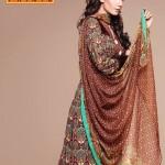 Latest Warda Designer Winter Prints Collection 2013 001