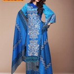Latest Warda Designer Winter Prints Collection 2013 004