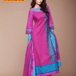 Latest Warda Designer Winter Prints Collection 2013 005
